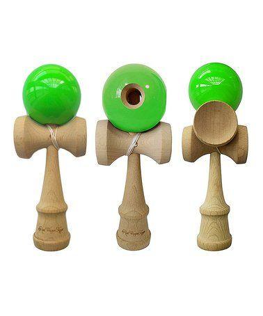 Green Kendama Toy - Set of Three #zulily #zulilyfinds