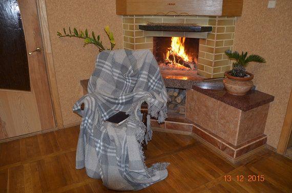 Jet couverture tapis Plaid Home et vivant par SteelWoodStoneSWS