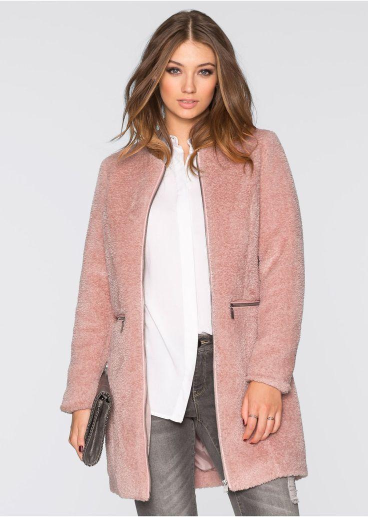 """Płaszcz """"baranek"""" Piękny płaszcz z • 124.99 zł • bonprix"""