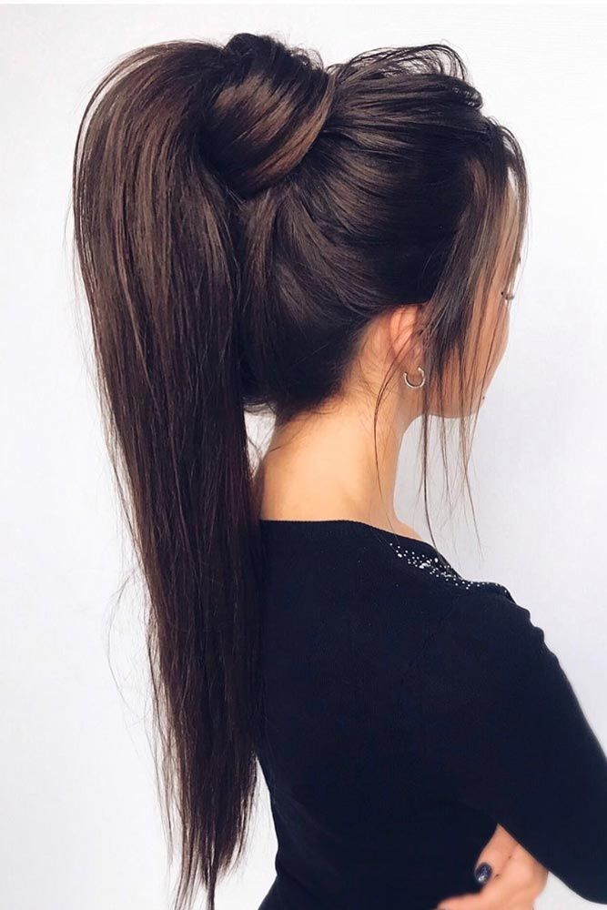 64 Incredible Hairstyles For Thin Hair Lovehairstyles Hair Ponytail Styles Tail Hairstyle High Ponytail Hairstyles