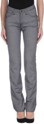 ARMANI JEANS Casual pants - Shop for women's Pants - Grey Pants