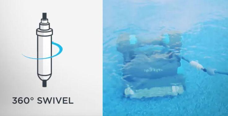 Swivel Pool Robot Stuck