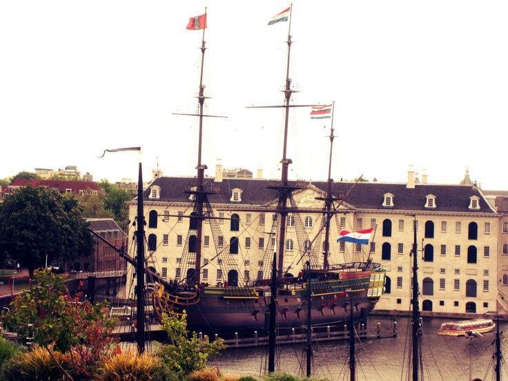 Amsterdam, Boat, Museum