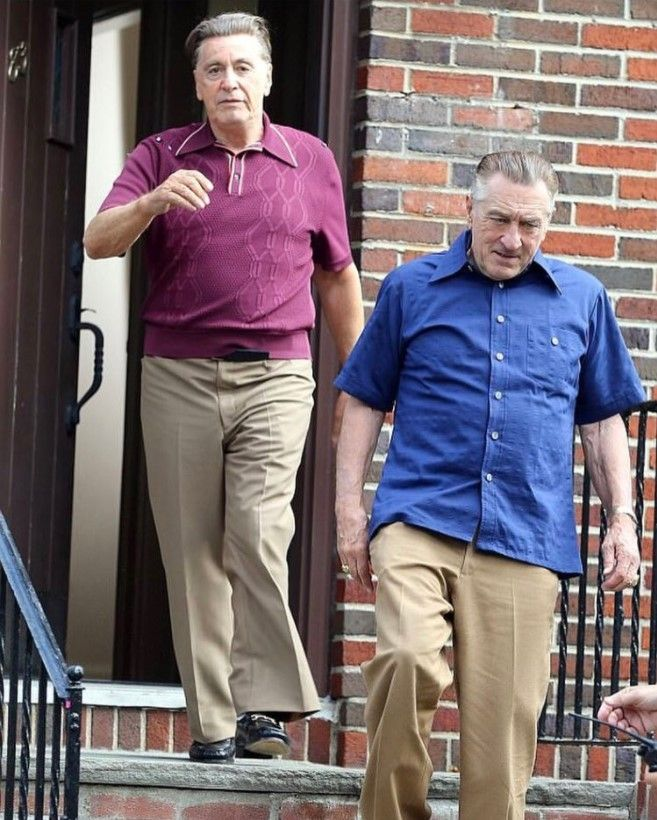 First Photos Of Al Pacino As Jimmy Hoffa Revealed In Martin