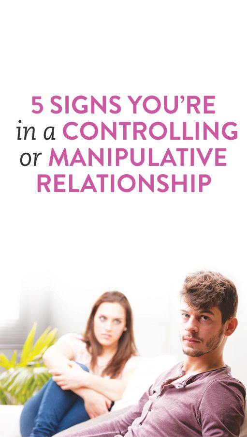 a manipulative relationship