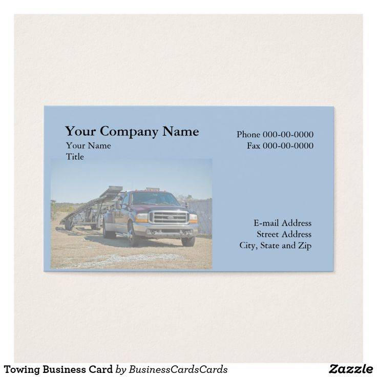 24 best Auto Towing Transport Wrecker Business Cards images on ...