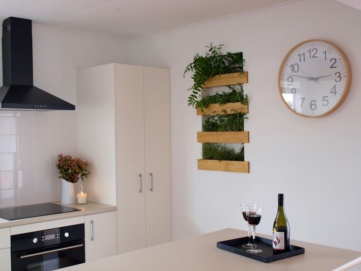 Pearson and Projects - Kitchen Renovation - Recessed Planter Box Greenwall - DIY
