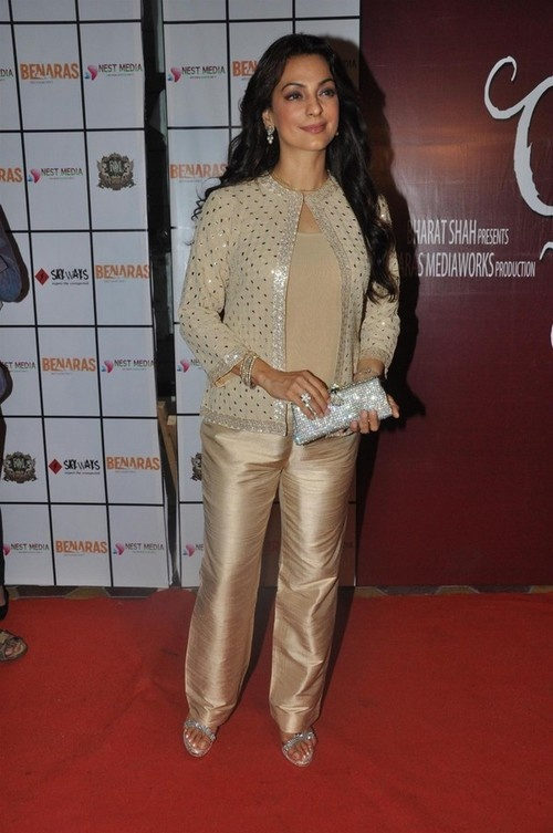 'Gulab Gang' Movie Completion Party - Juhi Chawla, Goldie Behl