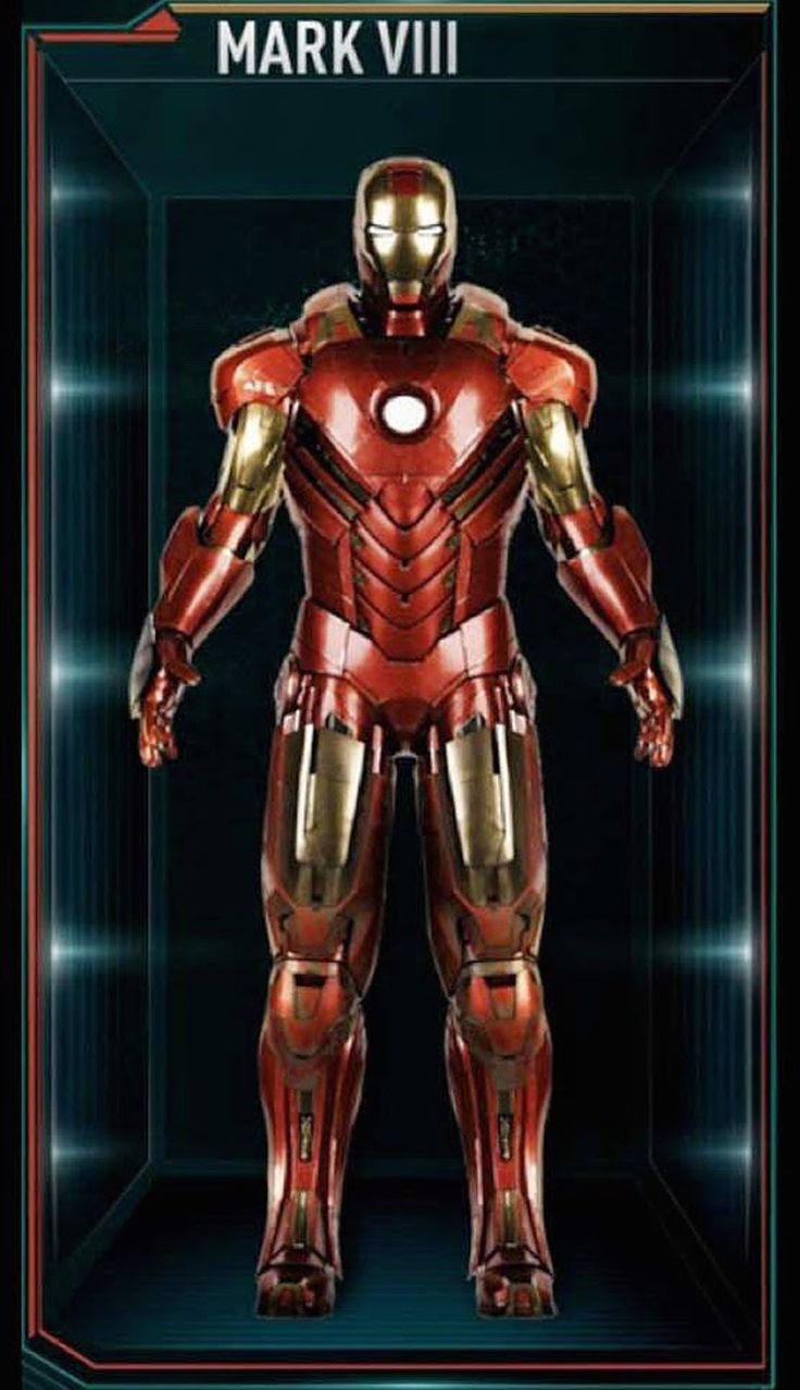 Mark VIII From 'Iron Man 3' (2013) | Iron Man Armor ...