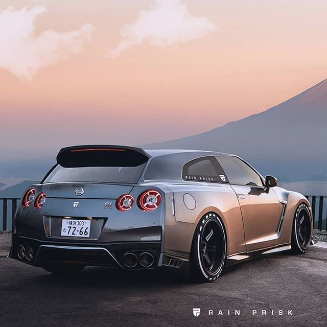 Image May Contain Car And Outdoor Nissan Gt Gtr Shooting Brake