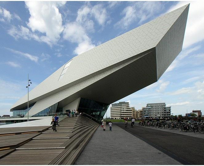 Eye Film Institute Netherlands    Architect: Delugan Meissl Associated Architects