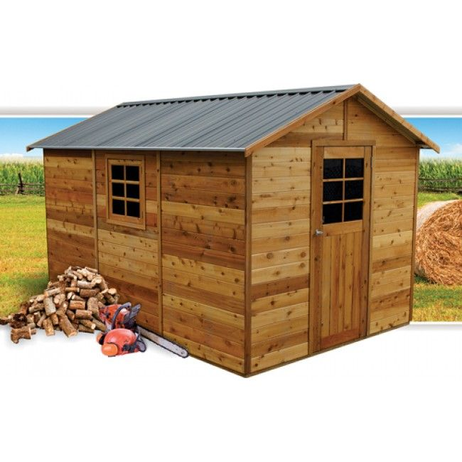master shed 8 x 12 timber garden shed