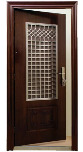 Pin by manoj nair on safety door pinterest for Entrance door designs for flats in india