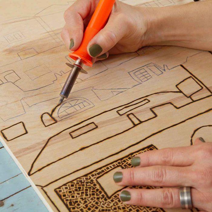 110 Best Crafts Wood Burning Images On Pinterest