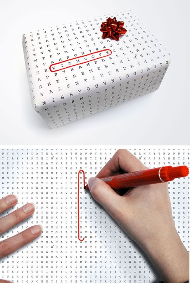 Wrapping paper for every occation