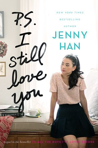 Cover Reveal: P.S. I Still Love You (To All the Boys I've Loved Before #2) by Jenny Han  -On sale May 26th 2015 by Simon & Schuster Books for Young Readers -Lara Jean didn't expect to really fall for Peter.  She and Peter were just pretending. Except suddenly they weren't. Now Lara Jean is more confused than ever.  When another boy from her past returns to her life, Lara Jean's feelings for him return too. Can a girl be in love with two boys at once?