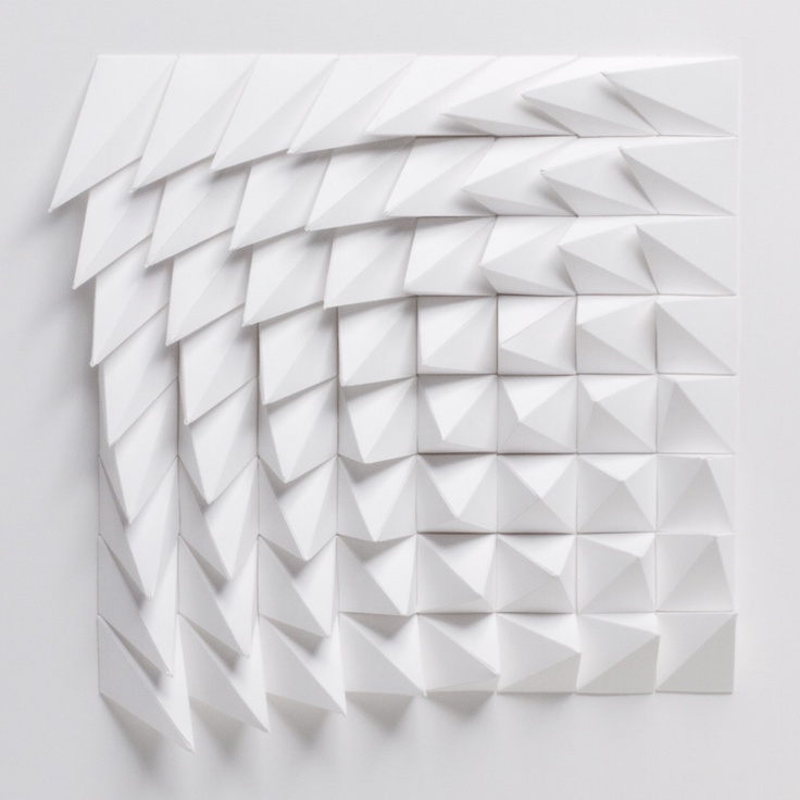 The Extraction Series by Matthew Shlian: Rotated: White | Art | The Ghostly Store