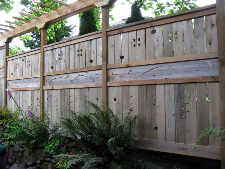 22 Awesome Fence Designs And Ideas