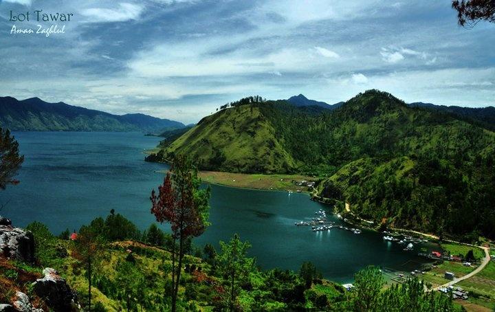 Danau Laut Tawar Takengon : Kota di Atas Awan