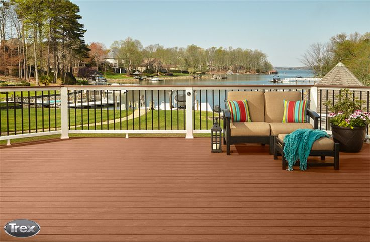 1000 images about trex inspiration and ideas on pinterest for Composite decking comparison