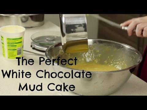 White chocolate mud cake recipe sour cream