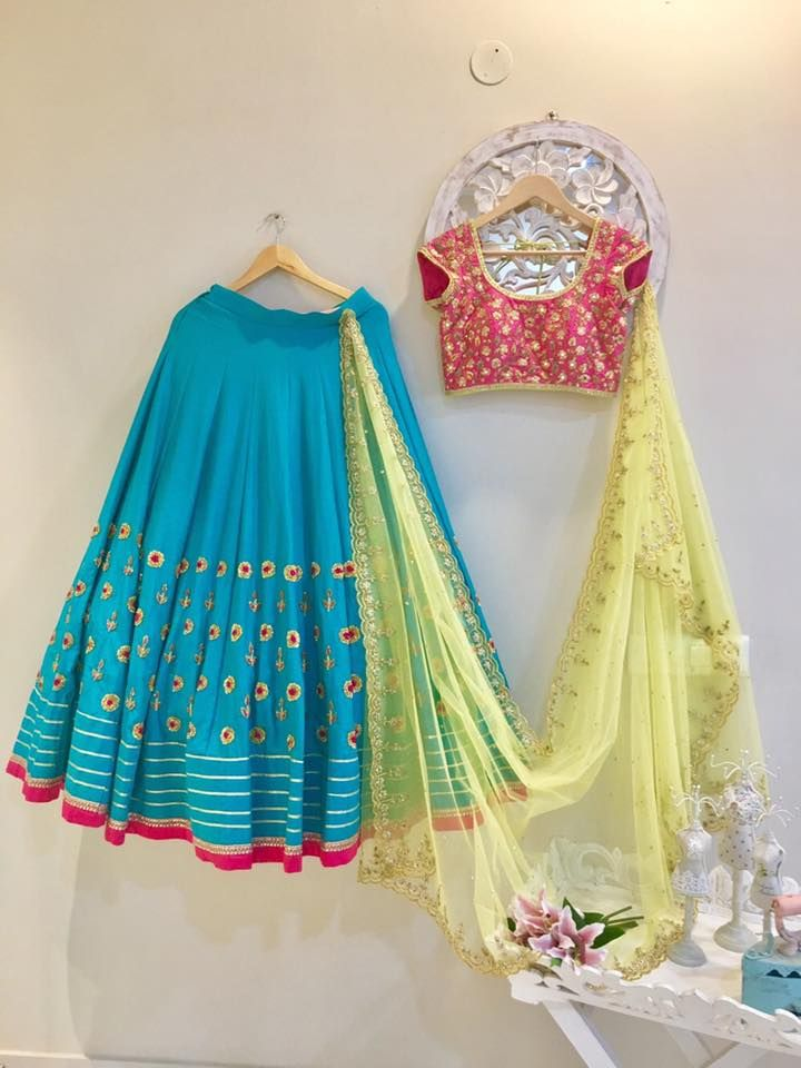 SC-L1190 : Green lehengas with peach blouse and yellow cut work dupatta!!!!We can customize the colour size as per your requirement.To order please call/ WhatsApp on 9949944178 or mail us issadesignerstudio@gmail.com 16 March 2017