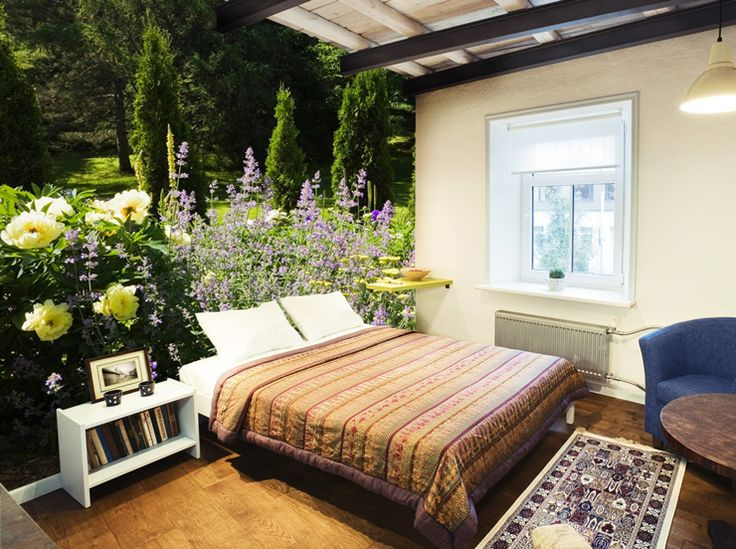14 best images about Garden Wall Mural Ideas for Living Rooms ...