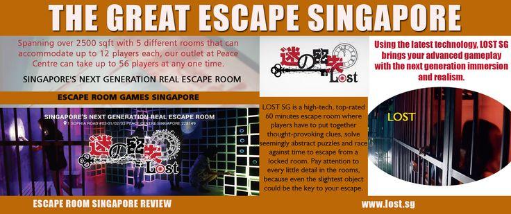 Escape Room Singapore Review