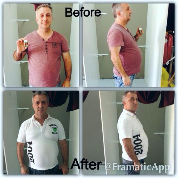 8kgs down in 2 weeks Thanks to BodyCon products
