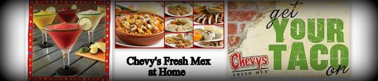Chevy's Fresh Mex Copycat Recipes. Not only does this blog have tons of Chevy's copycat recipes, it has just about every restaurant you can think of!! No more eating out for us!