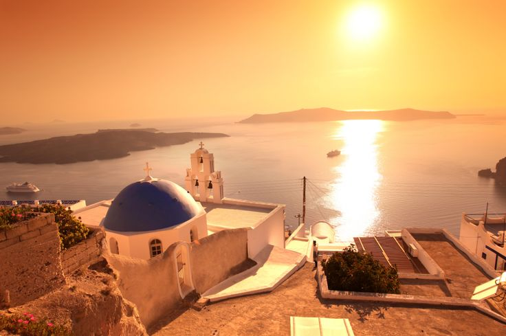 What is Santorini without its sunsets?