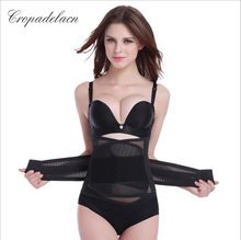 Luxury Women Breathable Slimming wraps Body Shaper Tummy Control Sashes Shapewear Waist Trainers Corsets