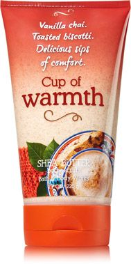 Cup of Warmth Shea Butter Body Scrub - Signature Collection - Bath & Body Works