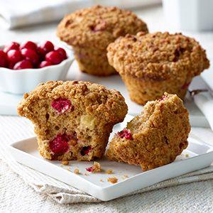 Un brin acidulé. Un brin sucré. Et complètement débordants de saveur. Ces muffins accueillent très bien l'automne.