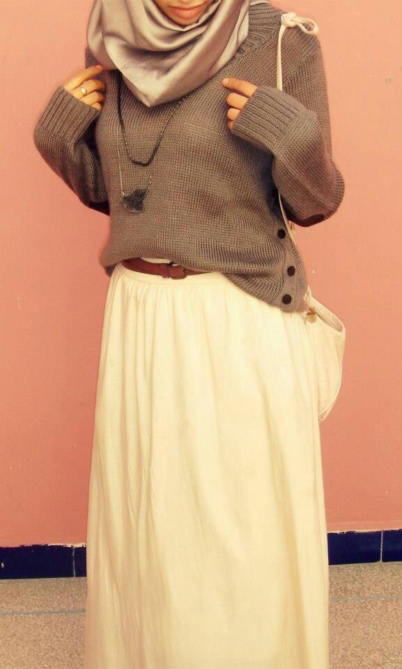 Loose fitting clothes are always best. #modesty#hijabi#Muslim