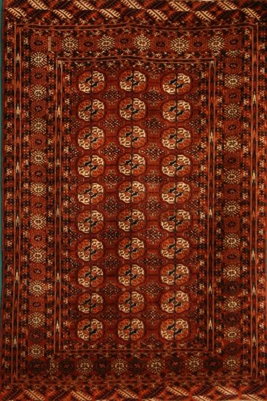 Tekke Size:4' x 6' Region: Turkoman Made: circa 1890