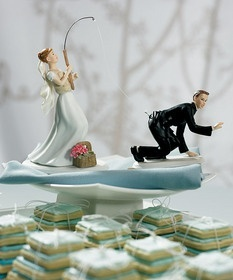 Wedding Cake topper?  for us? ABSOLUTELY! :)