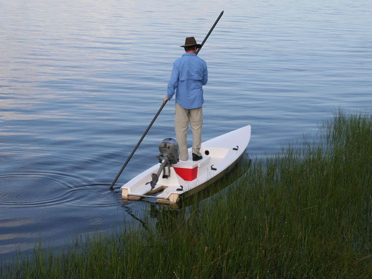 New At Pack Amp Paddle The Solo Skiff The Outboard Powered