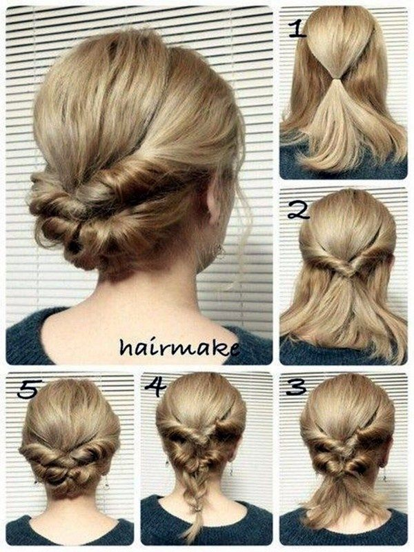 Quick Hairstyle Ideas For Moms 2 Zachiski Svoyimi Rukami Ideyi Zachisok Prirodni Kucheri