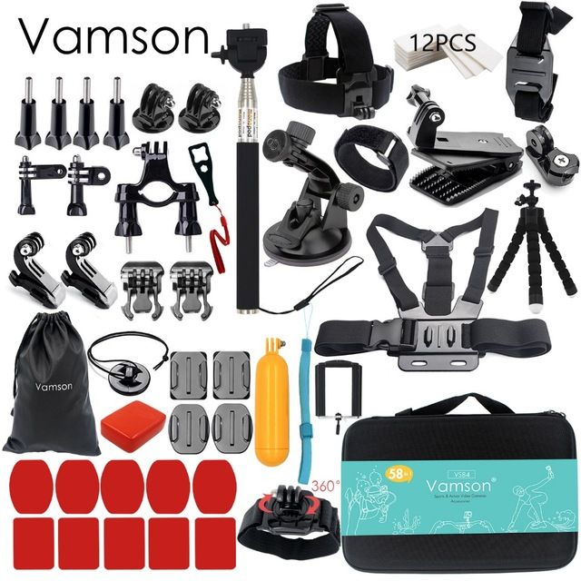 Gopro Accessories set. 100% Brand new and high quality Widely used for surfing, skiing, skateboarding, riding bicycle/ motorcycle It can be used with all kinds of Gopro accessories and is made of High Quality Plastic & Rubber for a Rustproof Finish The Large EVA Shockproof Carry Case(32.5×21.7×6.5cm) is very useful for keeping your for Polaroid Cube and accessories together when you are on the road trip, flying, fishing or backpacking