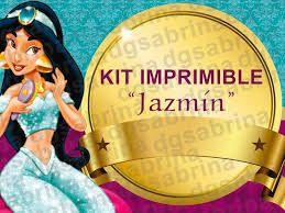 Resultado de imagen para banderin princesa jasmine