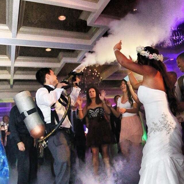 When Things Get Hot Our Cannon Is A Great Way To Cool Off Guests Who Have Been Working Up Sweat On The Dance Floor