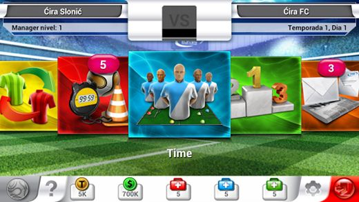 Jogo para Android e iOS: Top Eleven – Be a Football Manager