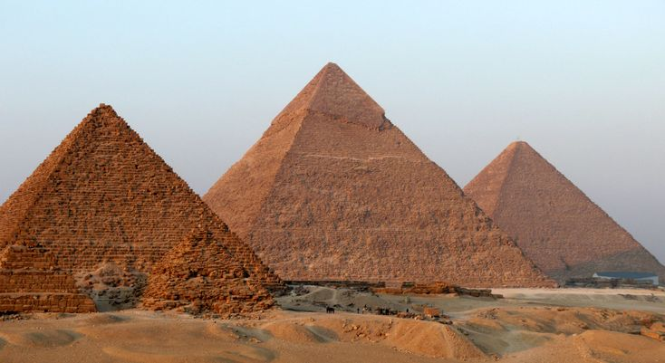 Pyramids of Egypt - definitely on my to do list ever since I learned about them in the 3 rd grade.