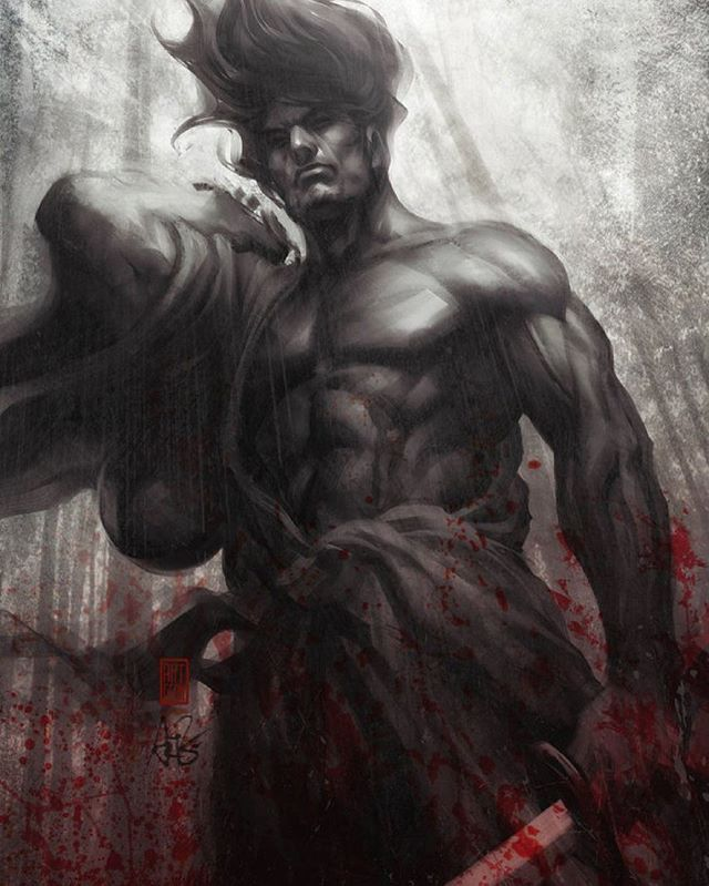 Samurai spirit Musou by Artgerm • • • • • • • • •  #shinobi #assasin #warrior #samurai #manga #ниндзя #katana #art #digitalart #бусидо #japan #bushido #катана #воин #fantasy #blade #Ninja #самурай #Япония #samurai #japan #japanese #japan🇯🇵 #japanesestyle #anime  #animeart #fantasyart#drawings#asian #ronin #ронин