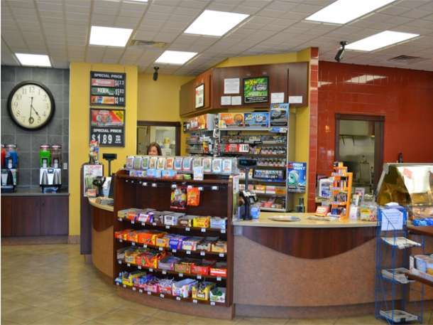 convenience store design an layout checkout winner valley marathon store