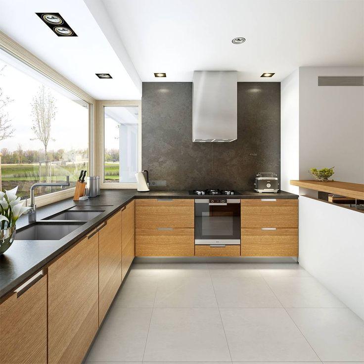 Komfortowy 2   Wizualizacja 6   Nowoczesne Projekty Z Użytkowym Poddaszem I  Wejściem Od Południa · Tasty KitchenHouse