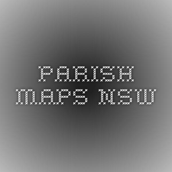 Parish Maps NSW