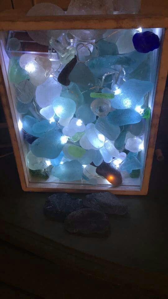 Displaying Sea glass