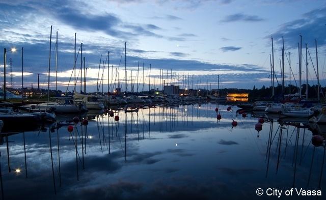 Sailing boats @ Vaasa. www.visitvaasa.fi. Photographer Ann-Britt Pada